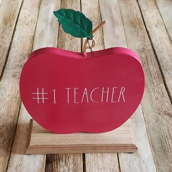 NWT RAE DUNN #1 TEACHER